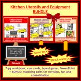 Cooking, Life Skills: Utensils and Equipment Activities BUNDLE