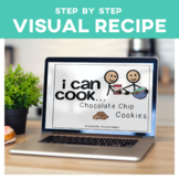 Cooking Visual Recipe: Chocolate Chip Cookies Special Education SymbolStix