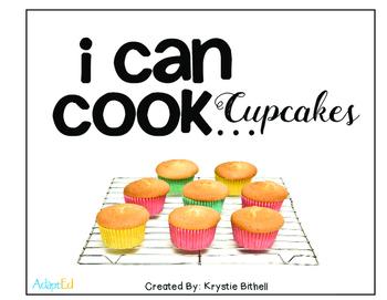 Cooking Visual Recipe: Cupcakes Special Education SymbolStix