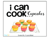 Cooking Visual Recipe: Cupcakes Special Education SymbolStix