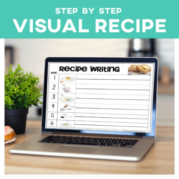 Cooking Visual Recipe: French Toast Special Education Autism