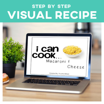 Cooking Visual Recipe: Macaroni and Cheese Special Education Editable SymbolStix