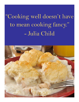 Cooking Well Poster