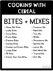 Visual Recipes with Cereal: Special Education