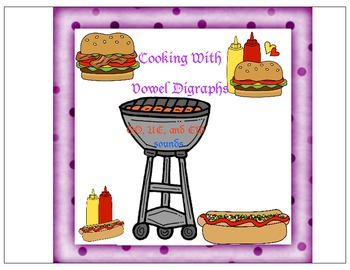Cooking With Digraphs OO, UE, EW sounds