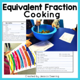 Cooking With Fractions- Equivalent Fractions Game, Tool and Matching Activities