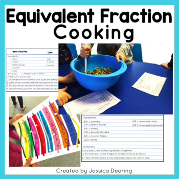 cooking with fractions math activity #10 answer key