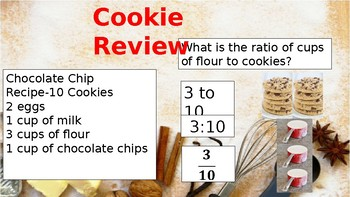 Cooking With Math-Ratio Tables