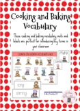 Cooking and Baking Vocabulary