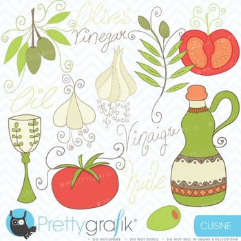 Cooking clipart commercial use, vector graphics, digital clip art - CL365