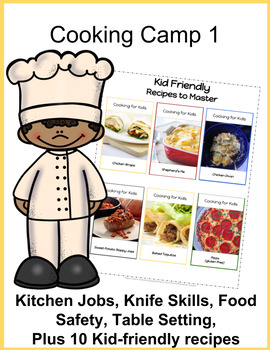 Cooking Projects for Kids: Cooking Camp BUNDLE