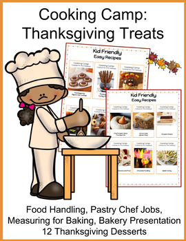 Distance Learning: Cooking Projects for Kids- BUNDLE