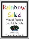 Rainbow Salad Visual Recipe for Special Education