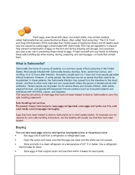 Cooking in Special Education: Scrambled Eggs and Egg Safety