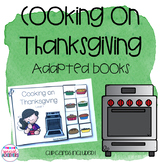 Cooking on Thanksgiving Adapted Books