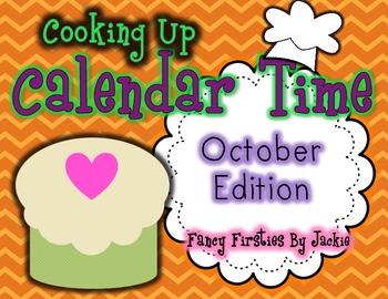 """Cooking up Calendar Time""-- October Calendar Companion"
