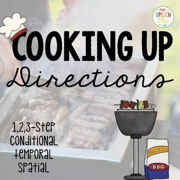 Cooking up directions!