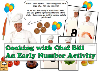 Cooking with Chef Bill - Early Number Activity