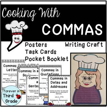 Commas for Third Grade