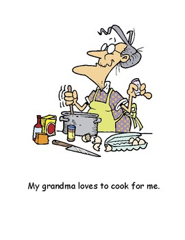 Cooking with Grandma Big Book Read Aloud