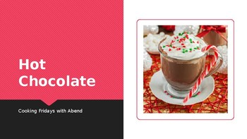 Cooking with Kids: Hot Cocoa