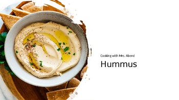 Cooking with Kids: Hummus