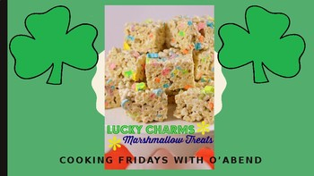 Cooking with Kids: Lucky Charms Treats