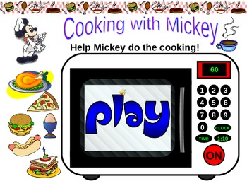 Cooking with Mickey