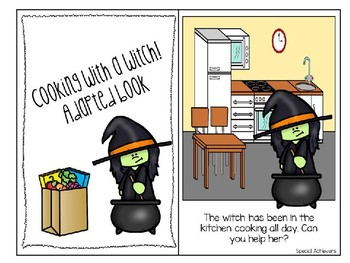 Cooking with a Witch Adapted Book