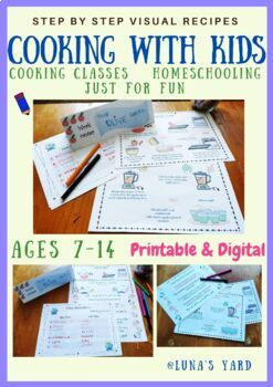 Cooking with kids - Step by step cooking with pictures