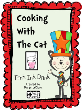 Cooking with the Cat - PINK INK DRINK