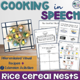 Cooking with the SLP: Rice Cereal Nests