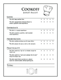 Cookoff Rubric