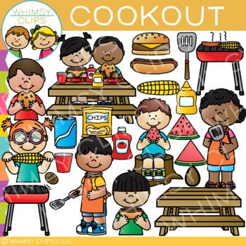 Fun Cookout Clip Art {Summer Clip Art}