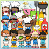 Cookout Fun Clip Art - BBQ Clip Art - Grilling Out - CU Cl