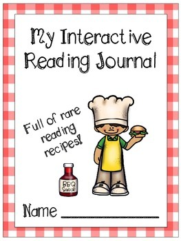 Cookout Themed Interactive Journal Covers