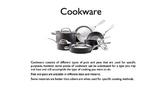 Cookware PowerPoint