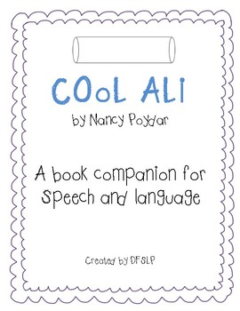 Cool Ali - A Book Companion for Speech and Language Therapy
