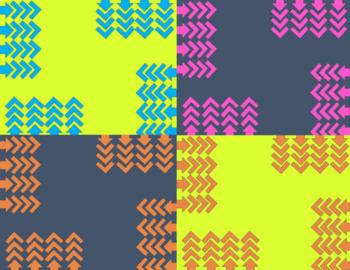 Cool Arrows Digital Paper