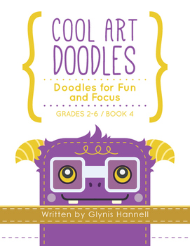 Cool Art Doodles BOOK 4