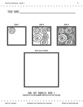 Cool Art Doodles BOOK 1