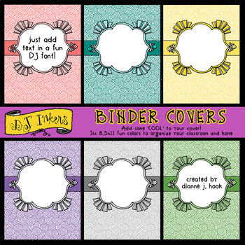 Cool Binder Covers - Clip Art Borders Download