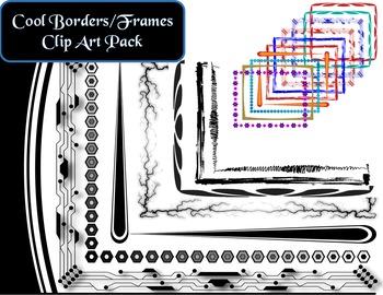 Cool Border/Frames Clip Art Pack