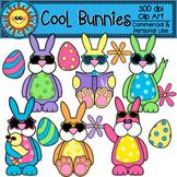 Cool Bunnies Clip Art