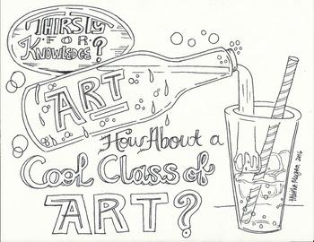 Cool CLass of ART handout