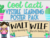 Cool Cacti Visible Learning Poster Pack