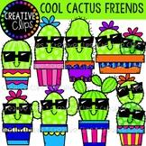 Cool Cactus Friends Clipart {Cactus Clipart}