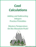 Cool Calculations - Adding and Subtracting Integers (Diffe