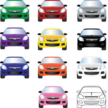 Cool Cars Graphics Pack