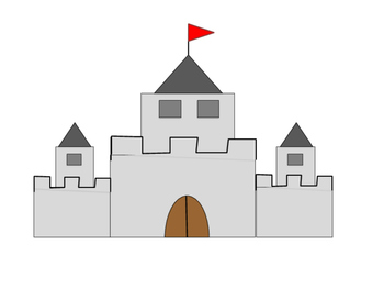 Cool Castle Border and graphics